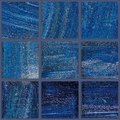 Murano glass mosaic no B239/ 75 pc