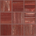 Murano glass mosaic no B269/ 75 pc