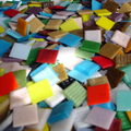 Glass mosaic, 20x20mm, 500gr. Different colors