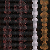 BISAZZA Mosaico COLUMNS BROWN B
