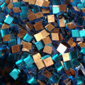 Gold Mosaic 24K  No 0160 / 10x10mm