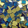 Gold Mosaic 10x10mm / Citron Gold No 0060,