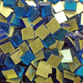 Gold Mosaik 10x10mm / Citron Gold No 0060,