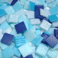 PINO BISAZZA VITREO20 Glass mosaic mix: Blue, 0.500 Kg.